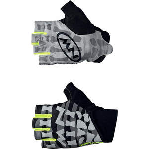 GUANTO NEW SKELETION GLOVE NORTHWAVE BLACK/YEL/FLUO