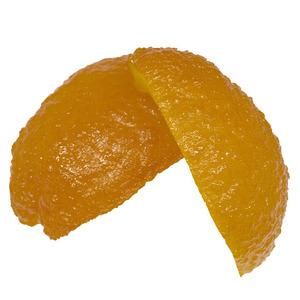 Scorza di arancio a quarti