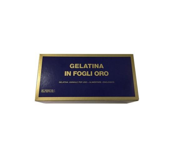 Colla di Pesce - Gelatina animale in fogli Oro