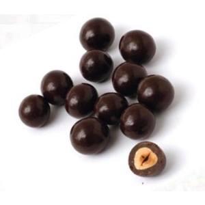 Nocciole ricoperte di cioccolato