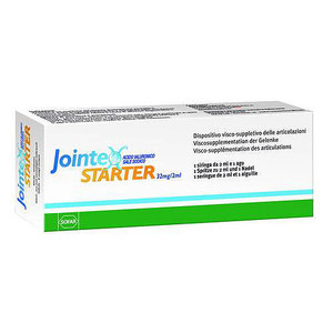 JOINTEX STARTER 3 SIRINGHE ACIDO IALURONICO 32MG/2ML SOFAR
