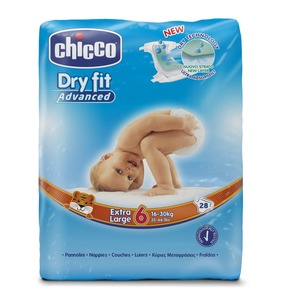 PANNOLINI CHICCO DRY FIT ADVANCED 6