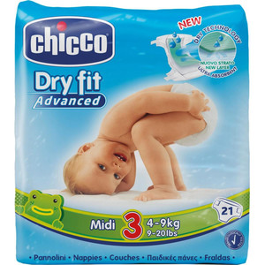 PANNOLINI CHICCO DRY FIT ADVANCED 3