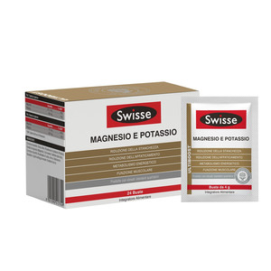 MAGNESIO E POTASSIO SWISSE 24 BUSTE