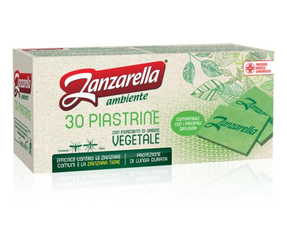 ZANZARELLA 30 PIASTRINE PER DIFFUSORE AMBIENTE