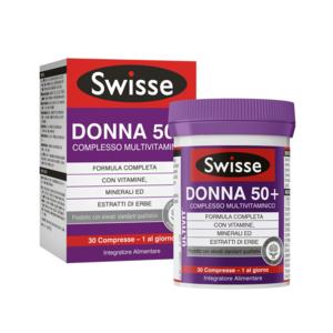 SWISSE MULTIVITAMINICO DONNA 50+ 30 CP