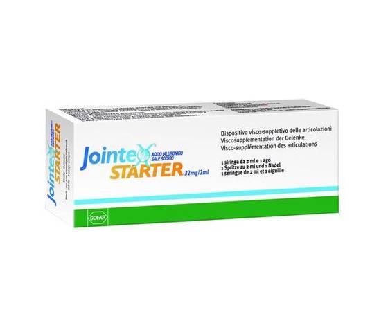 JOINTEX STARTER 1 SIRINGA ACIDO IALURONICO 32MG/2ML SOFAR