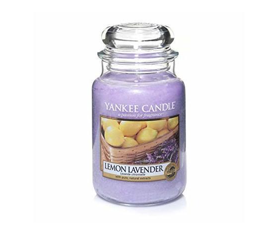 Yankee  candle giara grande 623g lemon lavander