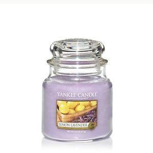 Yankee  candle Lemon Lavander Giara media 411g