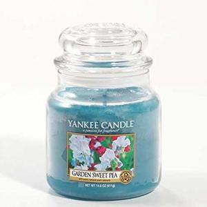 Yankee  candle Garden Sweet Pea Giara Media 411g