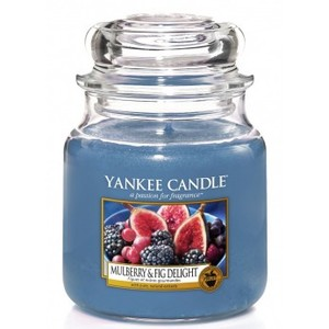 Yankee  candle Mulberry & Fig Delight Giara Media 411g