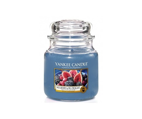 Yankee  candle giara media  411g mulberry   fig delight
