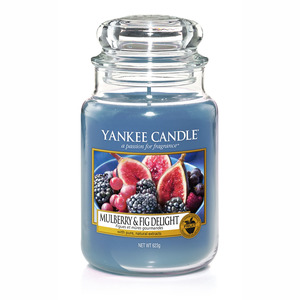 Yankee  candle Mulberry & Fig Delight Giara Grande 623g
