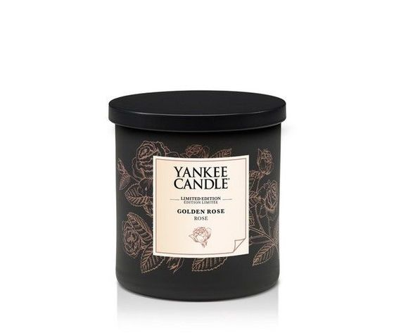 Yankee  candle pillar 198g limited edition golden rose
