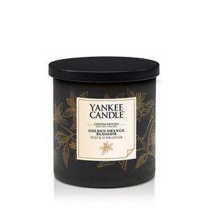 "Yankee  candle Limited Edition ""Golden Orange Blossom""Pillar 198g"