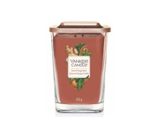 Yankee  candle giara grande 552g linea elevetion sweet orange spice