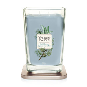 "Yankee  candle Linea Elevetion "" Coastal Cypress"" Giara Grande 522g"