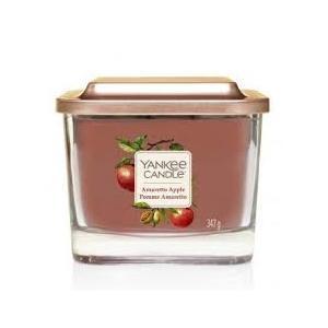 "Yankee  candle Linea Elevetion ""Amaretto Apple"" Giara media 347g"
