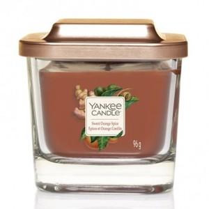 "Yankee  candle Linea Elevetion ""Sweet Orange Spice""Giara Piccola 96g"