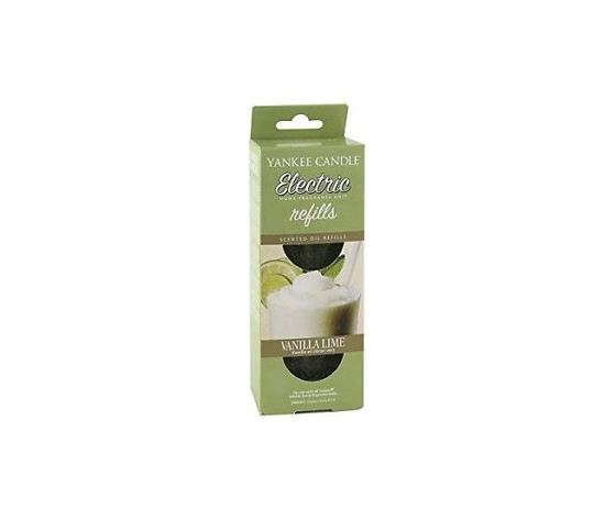 Yankee  candle ricarica per electric home fragrance vanilla lime