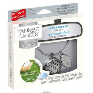 Yankee  candle Charming Scents Box per Auto Clean Cotton