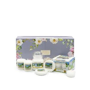 GIFT FRAGRANCE SET YANKEE CANDLE CLEAN COTTON