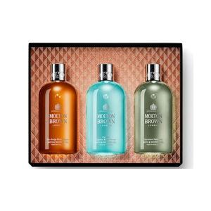 Confezione regalo Spicy & Aromatic Collections con tre doccia schiuma 300ml