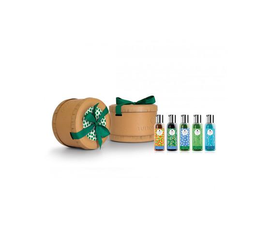 Confezione  Cappelliera Regalo Luxury Bath time per Lui, con 3 Gel Doccia e  2 Gel doccia Shampoo