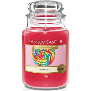 "Yankee Candle RETURNING FAVOURITE ""TUTTI-FRUTTI"" Giara Grande 623g"
