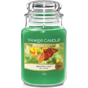 "Yankee Candle REURNING FAVOURITE ""BEAUTIFUL DAY"" Giara Grande 623g"