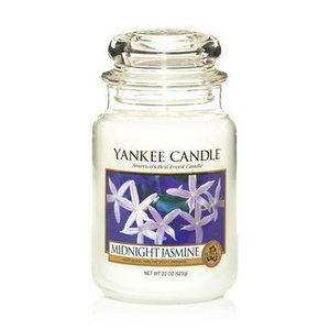 "Yankee Candle ""MIDNIGHT JASMINE"" Giara Grande 623g"