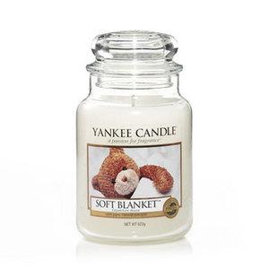 """Yankee Candle """"SOFT BLANKET"""" Giara Grande 623g"""