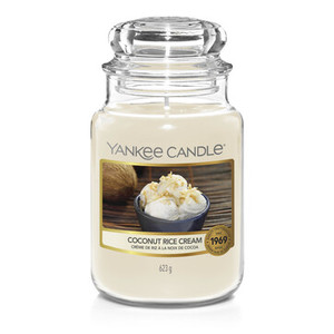 "Yankee Candle ""COCONUT RICE CREAM""Giara Grande 623g"