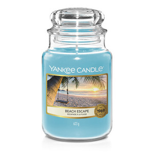 "Yankee Candle ""BEACH ESCAPE""Giara Grande 623g"