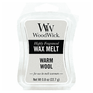 "Woodwick Wax Melt""Warm Wool""22,7g"