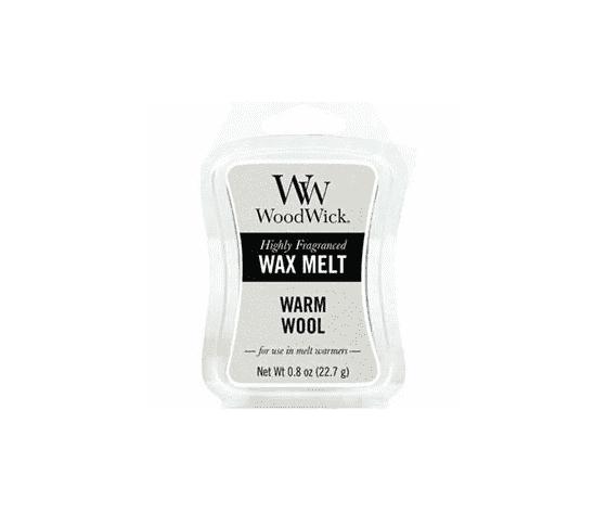 Warm wool wax melt