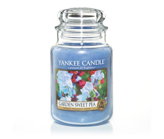 Yankee  candle Garden Sweet Pea Giara Grande 623g