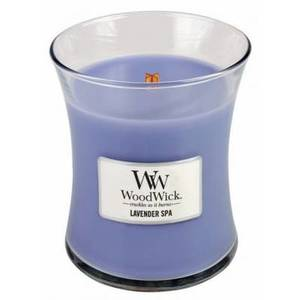 WoodWick Candela Media 275g Lavender Spa