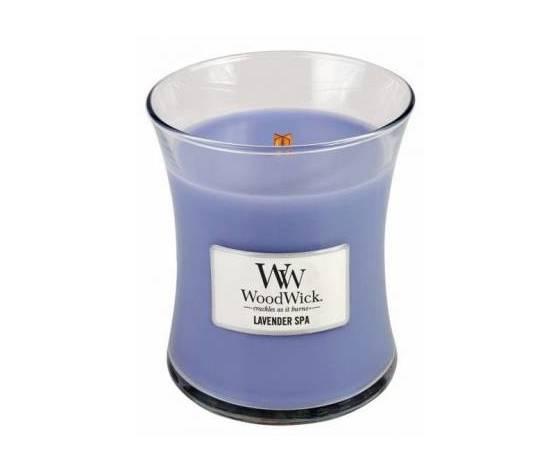 Woodwick candela media 275g lavender spa