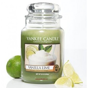 Yankee  candle Vanilla Lime Giara Grande 623g