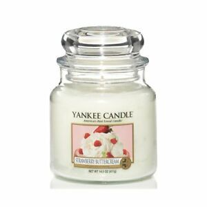 Yankee  candle Strawberry Buttercream Giara Media 411g