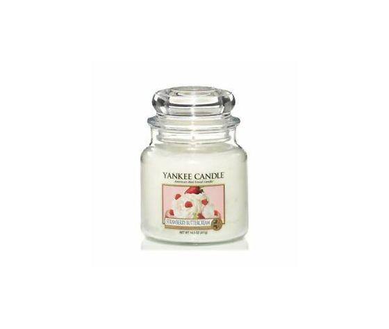 Yankee  candle Strawberry Buttercream Giara Media 411g