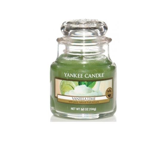 Yankee  candle giara piccola 104g vanilla lime