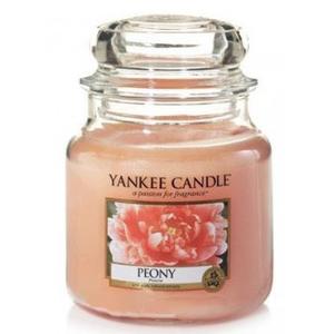Yankee  candle Peony Giara media 411g