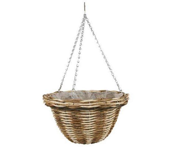 Basket in rattan d 30 cm