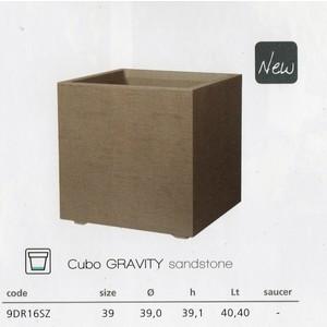 GRAVITY CUBO CM.39 GRIGIO CHI.