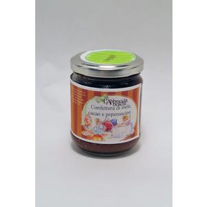 Confettura di mele, cacao e peperoncino 220 gr