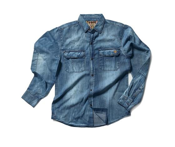 Camicia da lavoro dike cool 96113 807 6133 denim