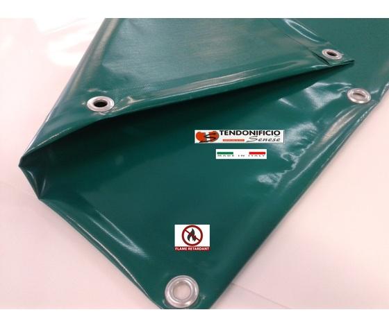 Telo ignifugo in PVC gr.650 mq.
