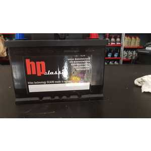 Batteria HP by SCAINI  L2B BASSA 12v 60AH 480A EN KL2480BC